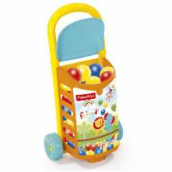 trolley fisher price con bolas