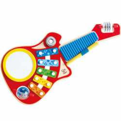 guitarra musical hape 6 en 1