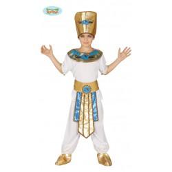 disfraz faraon egipcio niño
