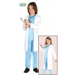 disfraz de medico niño
