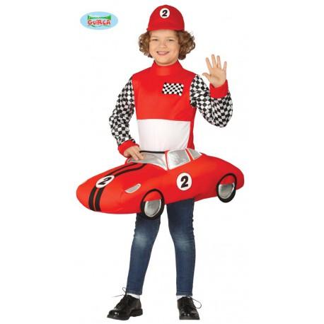 disfraz coche formula 1niño
